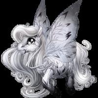 Delicate Leaf Spring Fairy