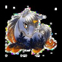 Winternight Fire Unicorn Baby