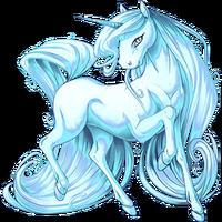 Ice Blue Unicorn V2