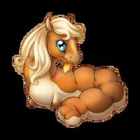 Flaxen Chestnut Spring Fairy Baby