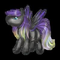 Purple Rain Pegasus Baby