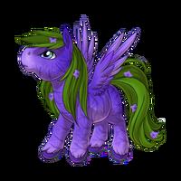 Balloon Flower Pegasus Baby