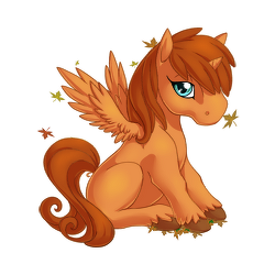 File:Autumn Afterglow Alicorn Baby.png