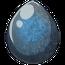 Blue Roan Tobiano Unicorn Egg