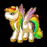 Celestial Rainbow Pegasus Baby