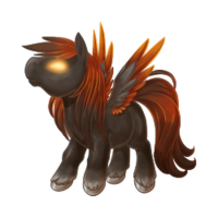 Incandescent Pegasus Baby