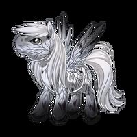 Delicate Leaf Pegasus Baby