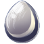 Pewter Unicorn Egg