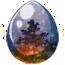 Winternight Fire Unicorn Egg