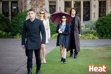 Guardian,Lissa,Natalie, Dimitri