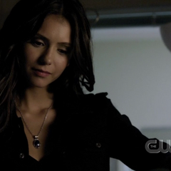 Katherine's amulet worn as a Necklace