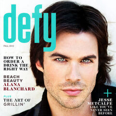 Defy — Fall 2012, United States, Ian Somerhalder
