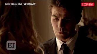 The Vampire Diaries season 8x09 deleted sciene Stefan and Caroline