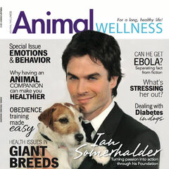 Animal Wellness — Mar 2015, United States, Ian Somerhalder