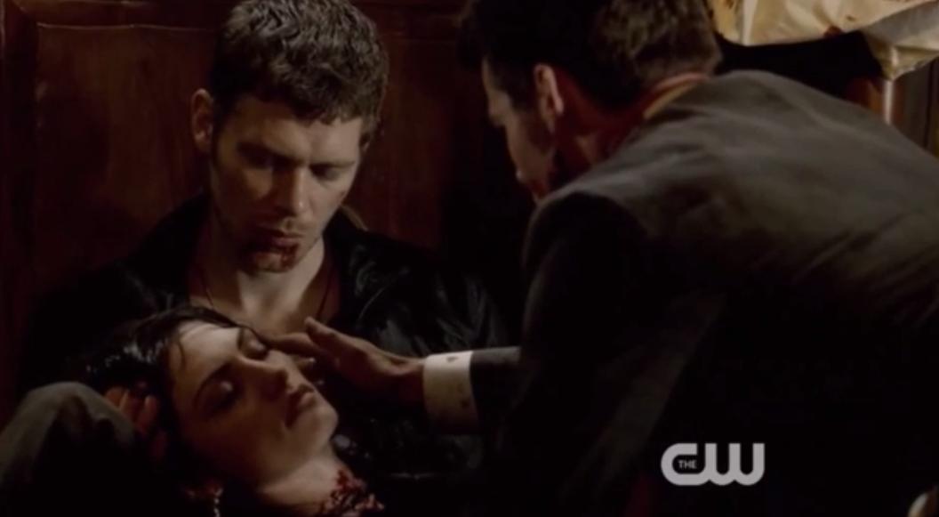 Image - Klaus-Hayley and Elijah 1x22.png | The Vampire ...