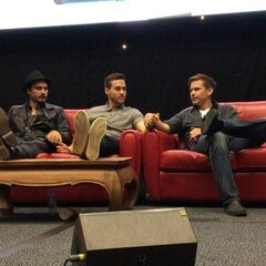 Michael Malarkey, Chris Wood, Matthew Davis