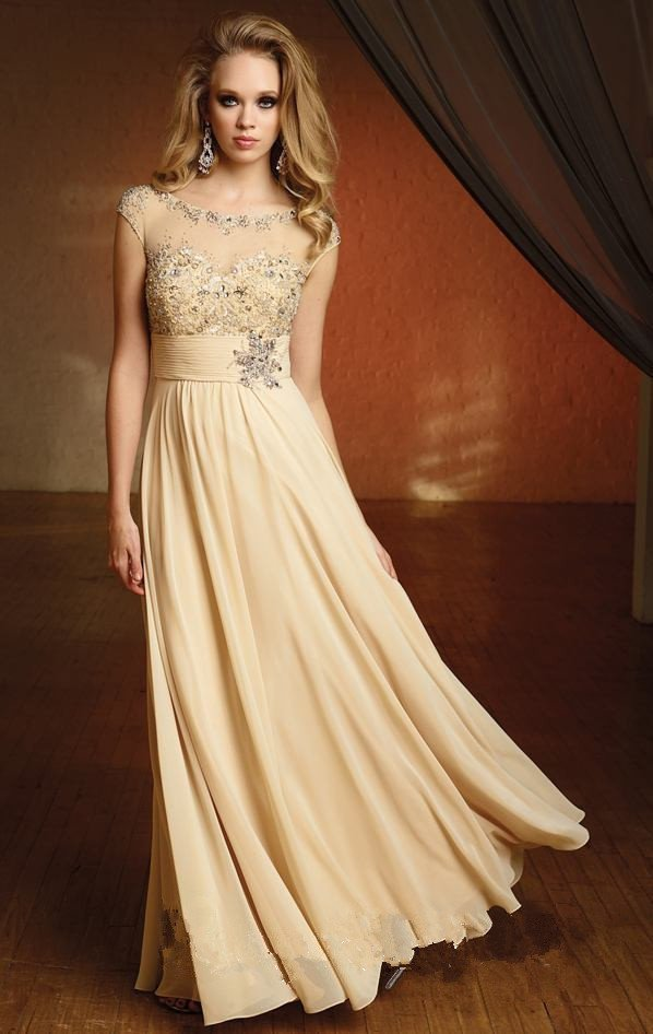 Image NewLongChiffonEveningPromPartyCocktailDresses