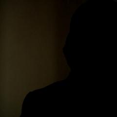 Silas' silhouette