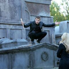Klaus and Rebekah