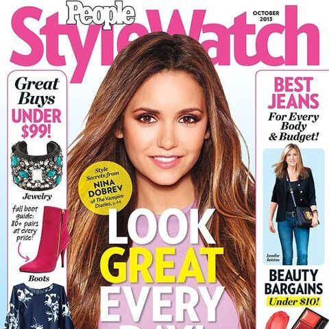 People Style Watch — Oct 2013, United States, Nina Dobrev
