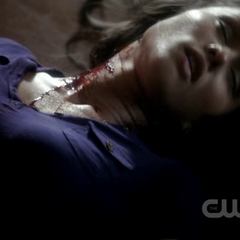Dana after being killed by Stefan