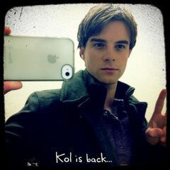 Nathaniel on set of After School Special