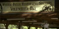 Mystic Falls Historical Society Volunteer Day