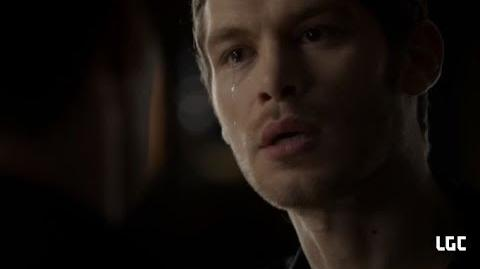 Klaus Cries, Leaves Rebekah and Elijah behind & takes Hayley
