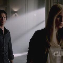 Damon and Rebekah 4x01