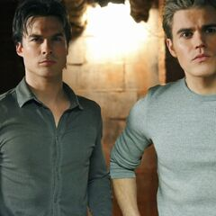 Stefan and Damon.