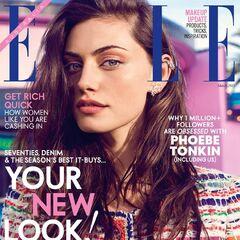 Elle — Mar 2015, Australia, Phoebe Tonkin