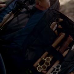 Alaric's weapons