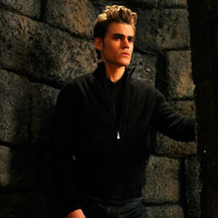 Stefan in the tomb.