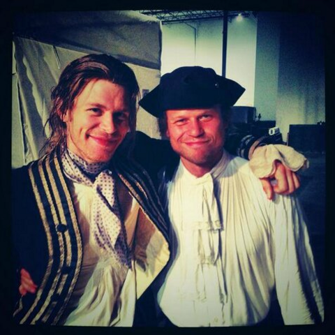 Aaron with Joseph BTS
