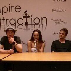 Ian Somerhalder, Kat Graham, Paul Wesley