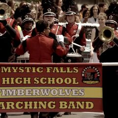 Mystic Falls marching band