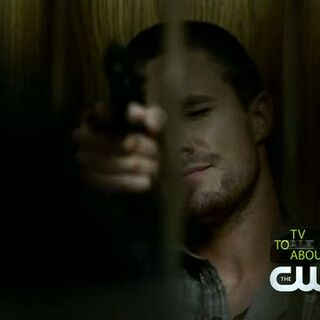 Brady torturing Caroline.