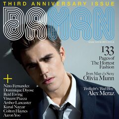 Da Man — Apr/May 2010, United States, Paul Wesley