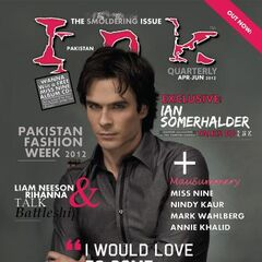 Ink — May 2012, United States, Ian Somerhalder