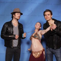 Ian Somerhalder, Dollie Madison, Paul Wesley