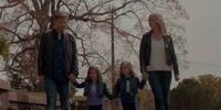 Alaric, Caroline, Josie and Lizzie
