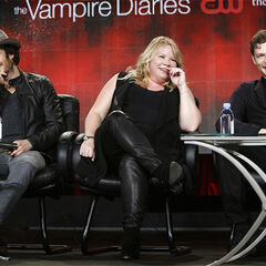 Ian Somerhalder, Julie Plec, Joseph Morgan