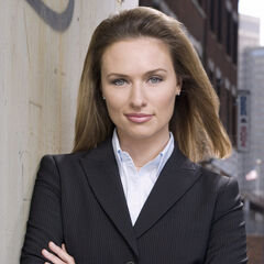 Michaela as A.D.A. Kim Greylek in Law and Order