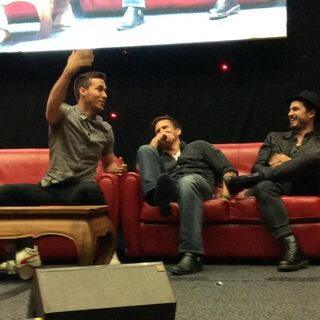 Chris Wood, Matthew Davis, Michael Malarkey