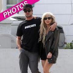Kinney with Gaga