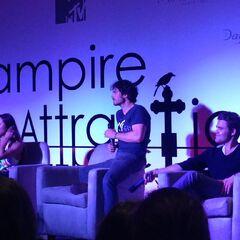 Kat Graham, Ian Somerhalder, Paul Wesley