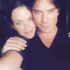 Annie Wersching, Ian Somerhalder July 22, 2015