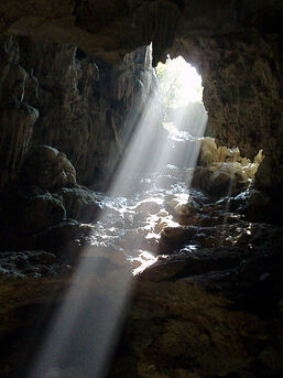 Beam of light Vietnam 2005