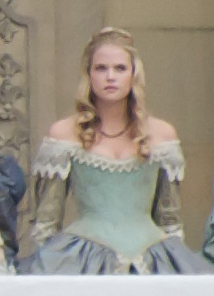 Gabrielle Wilde in Three Musketeers