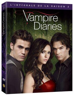 saison 2 dvd wiki vampire diaries france fandom powered by wikia. Black Bedroom Furniture Sets. Home Design Ideas